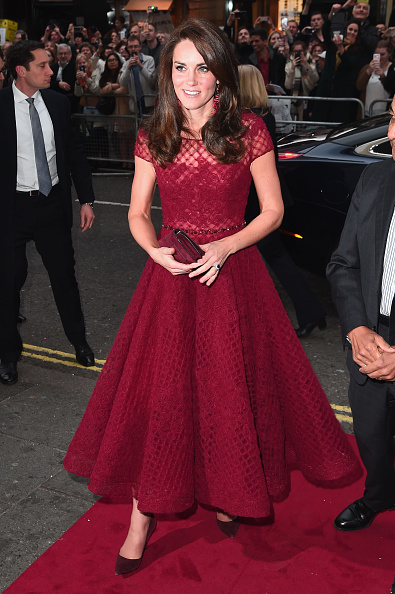 """Eamonn M「The Duchess Of Cambridge Attends The Opening Night Of """"42nd Street"""" In Aid Of The East Anglia Children's Hospice」:写真・画像(4)[壁紙.com]"""