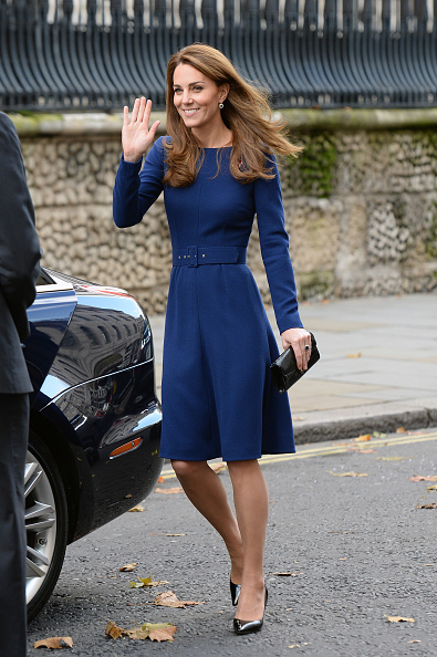 Blue Dress「The Duke And Duchess Of Cambridge Attend The Launch Of The National Emergencies Trust」:写真・画像(1)[壁紙.com]