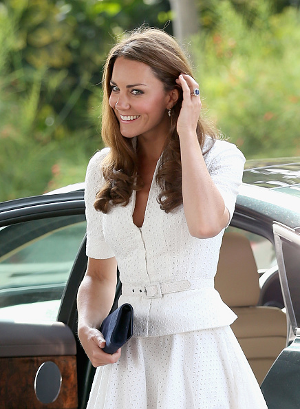 Short Sleeved「The Duke And Duchess Of Cambridge Diamond Jubilee Tour - Day 2」:写真・画像(1)[壁紙.com]