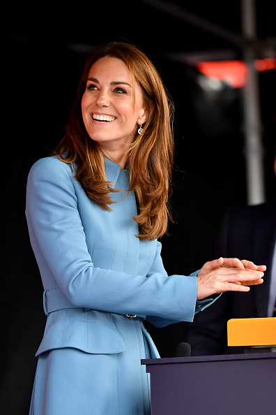 Birkenhead「The Duke & Duchess Of Cambridge Attend The Naming Ceremony For The RSS Sir David Attenborough」:写真・画像(14)[壁紙.com]
