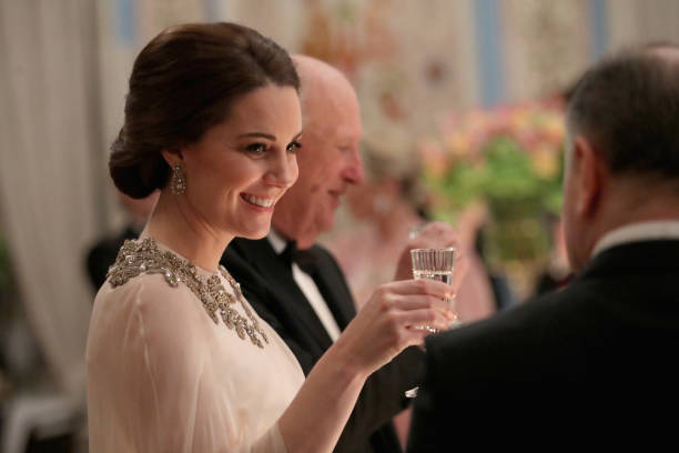 Dinner「The Duke And Duchess Of Cambridge Visit Sweden And Norway - Day 3」:写真・画像(8)[壁紙.com]