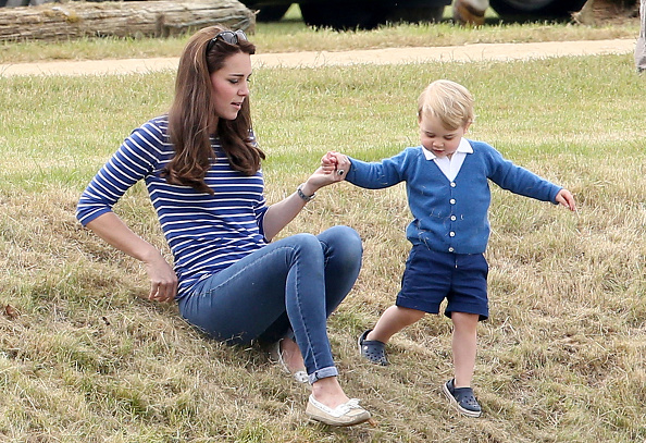 Prince George of Cambridge「The Duke Of Cambridge And Prince Harry Play In Gigaset Charity Polo Match」:写真・画像(10)[壁紙.com]