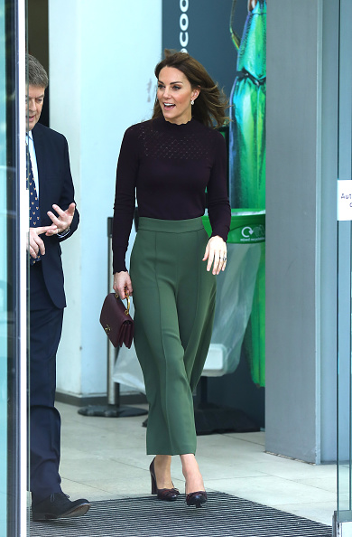 Chunky Heels「The Duchess Of Cambridge Visits The Angela Marmont Centre For UK Biodiversity」:写真・画像(15)[壁紙.com]