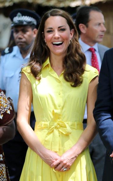 Yellow「The Duke And Duchess Of Cambridge Diamond Jubilee Tour - Day 7」:写真・画像(10)[壁紙.com]