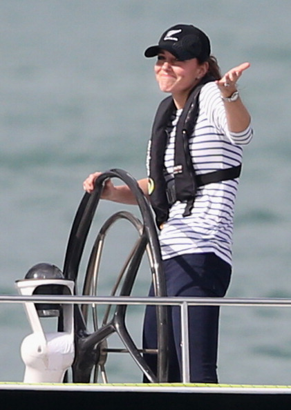船・ヨット「The Duke And Duchess Of Cambridge Tour Australia And New Zealand - Day 5」:写真・画像(6)[壁紙.com]