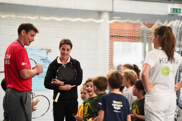 The Duchess Of Cambridge Visits The Lawn Tennis Association:ニュース(壁紙.com)