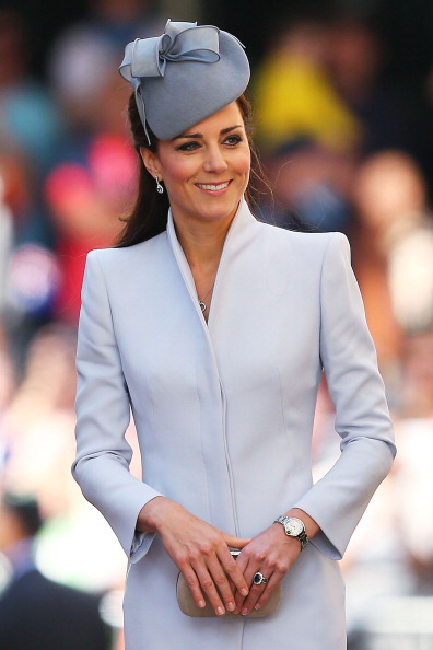 Clutch Bag「The Duke And Duchess Of Cambridge Tour Australia And New Zealand - Day 14」:写真・画像(0)[壁紙.com]