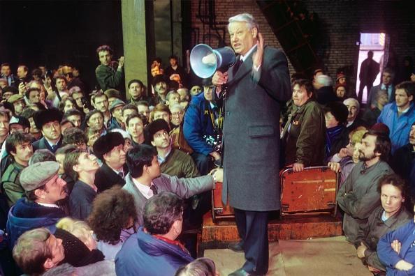 Presidential Election「Boris Yeltsin...」:写真・画像(16)[壁紙.com]
