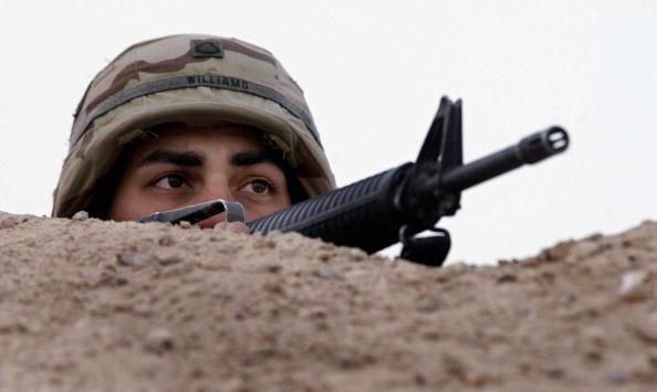 Sand Trap「U.S. Troops Prepare for War In Kuwait」:写真・画像(13)[壁紙.com]