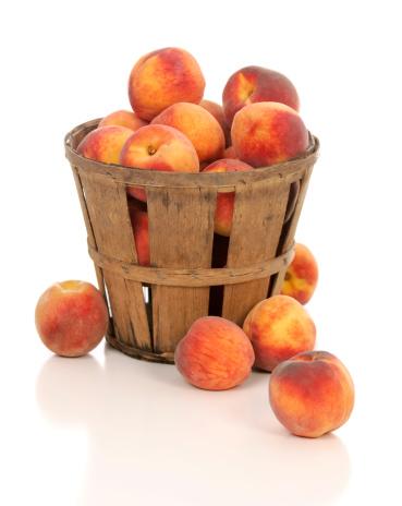 Peach「フレッシュでジューシーなピーチズ素朴なファームバスケット」:スマホ壁紙(18)