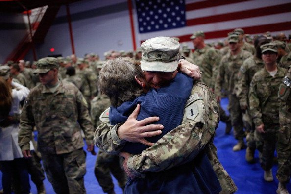 Fort Knox「Soliders From Army's 3rd Brigade Return Home From Afghanistan To Fort Knox」:写真・画像(11)[壁紙.com]