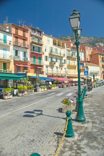 "France「""The town of Villefranche sur Mer, French Riviera, France""」:スマホ壁紙(5)"