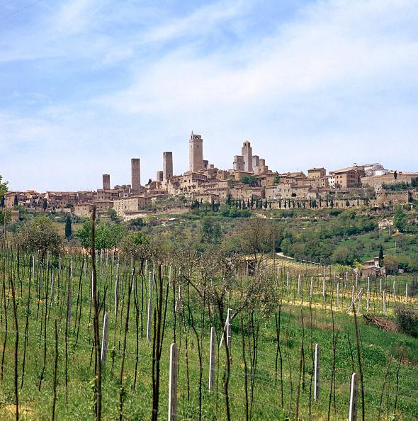 San Gimignano「The town of San Gimignano, 13th century.」:写真・画像(6)[壁紙.com]