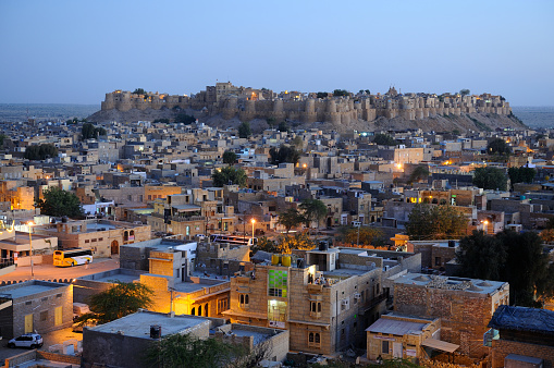 Rajasthan「The town of Jaisalmer」:スマホ壁紙(7)