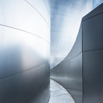 Square「Walkway Corridor Modern Architecture Abstract」:スマホ壁紙(8)