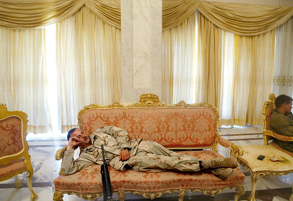 Baghdad「U.S. Military Guards Presidential Palace」:写真・画像(4)[壁紙.com]