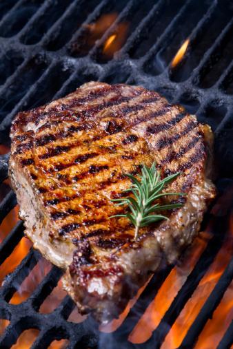 Asparagus「Ribeye Steak on Grill」:スマホ壁紙(12)