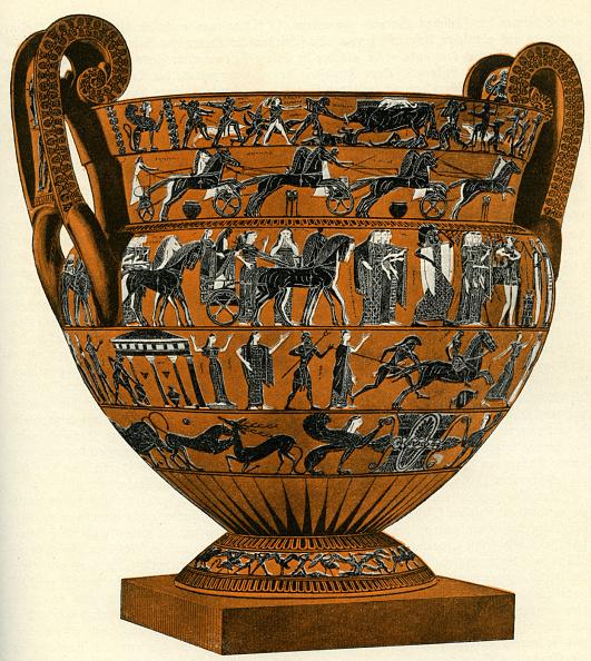花瓶「Black figure vase」:写真・画像(14)[壁紙.com]
