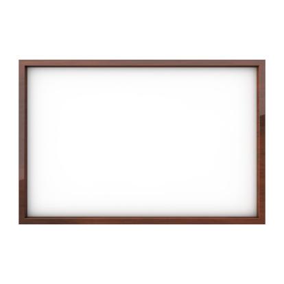 Chalk - Art Equipment「Isolated white blank drawing board」:スマホ壁紙(13)