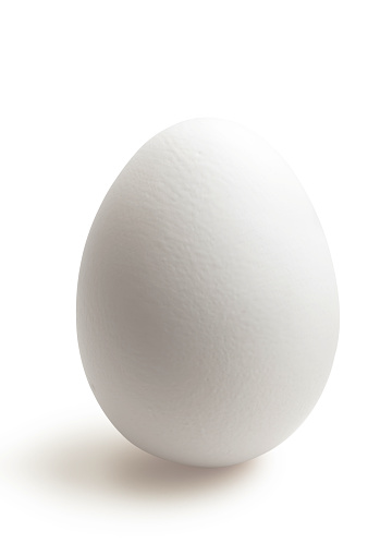 Egg「Isolated white egg in white background」:スマホ壁紙(8)