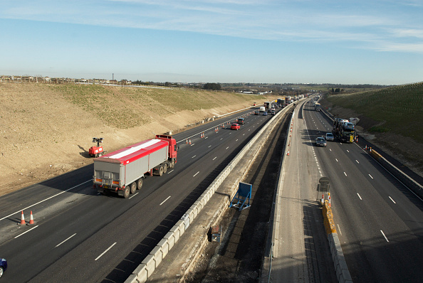 Traffic「Road widening on M25 between junctions 3 and 4」:写真・画像(5)[壁紙.com]