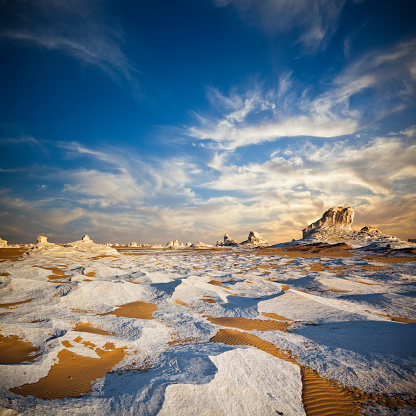 Wilderness Area「White Desert Twilight」:スマホ壁紙(18)