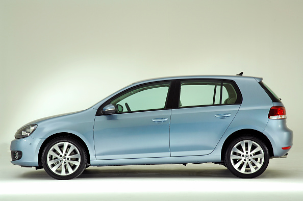 Side View「2009 VW Golf Mk6」:写真・画像(13)[壁紙.com]