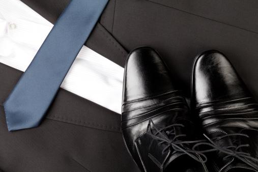 Formalwear「Men shoes and suit」:スマホ壁紙(11)