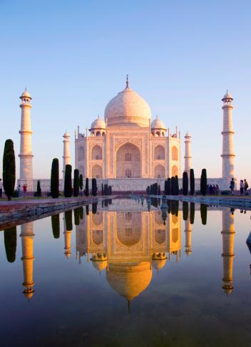 Agra「Morning view of Taj Mahal」:スマホ壁紙(12)