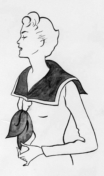Collar「Woman With Sailor Top」:写真・画像(7)[壁紙.com]