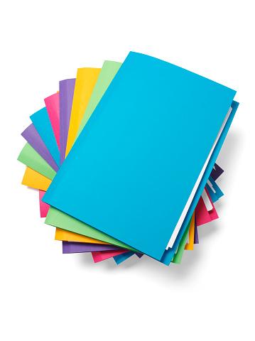 Heap「Blue File on the Top of a Pile」:スマホ壁紙(17)