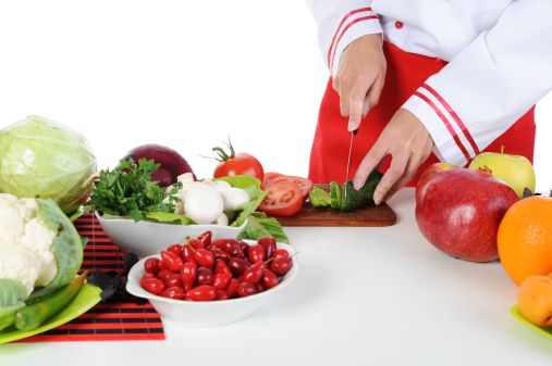 Cabbage「Chef cuts the cucumber」:スマホ壁紙(6)