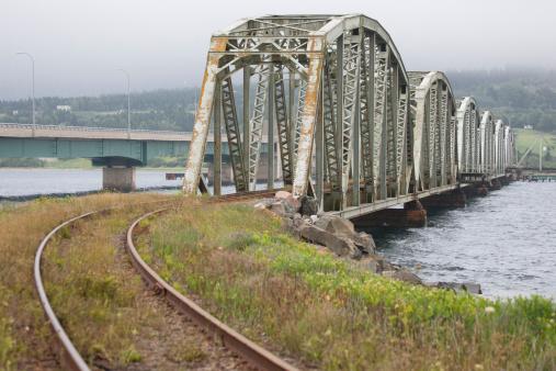 Ugliness「A derelict steel railroad bridge」:スマホ壁紙(19)