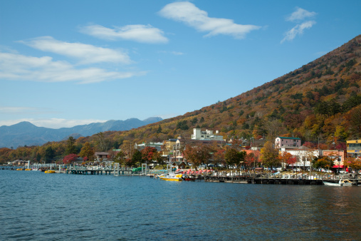 Nikko City「Chuzenji-ko in autumn」:スマホ壁紙(15)