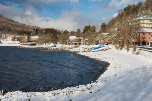 Nikko City「Chuzenji-ko (Lake Chuzenji) in winter」:スマホ壁紙(7)