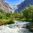 Briksdalsbreen Glacier壁紙の画像(壁紙.com)