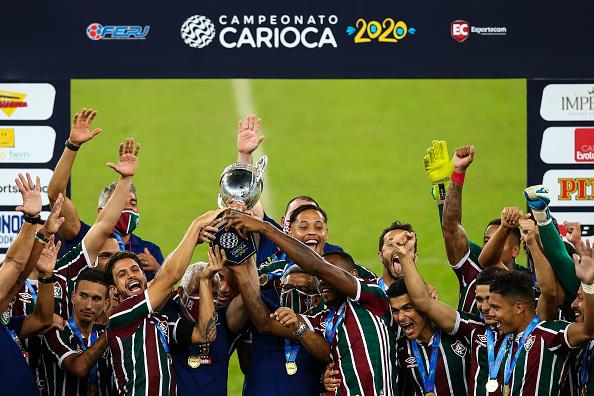 Maracanã Stadium「Flamengo v Fluminense - Carioca State Championship」:写真・画像(17)[壁紙.com]