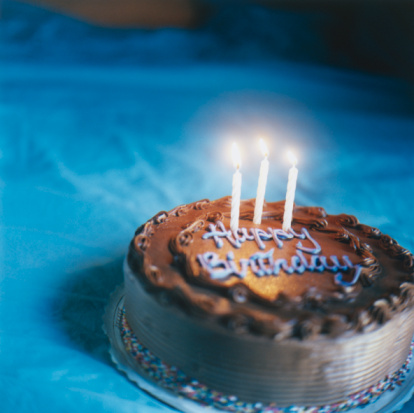 Birthday「Candles on Birthday Cake」:スマホ壁紙(11)