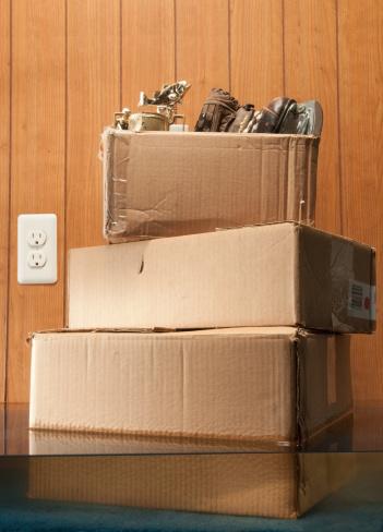 Basement「Storage Boxes In Flooded Basement」:スマホ壁紙(4)