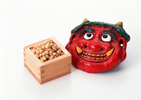 Setsubun「Ogre and Pea」:スマホ壁紙(17)