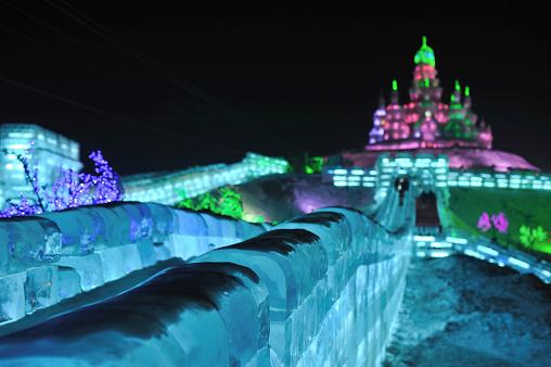 お祭り「ロシア教会「ハルビン氷祭り」:スマホ壁紙(15)