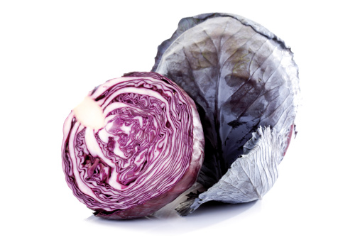 Red Cabbage「Red cabbages, close-up」:スマホ壁紙(4)
