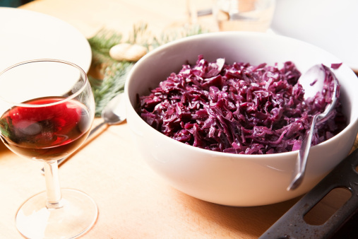 Red Cabbage「red cabbage in a bowl」:スマホ壁紙(15)