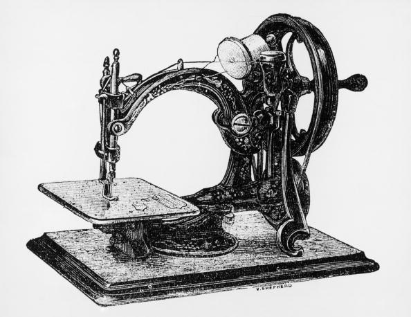 Sewing Machine「Early Sewing Machine」:写真・画像(2)[壁紙.com]