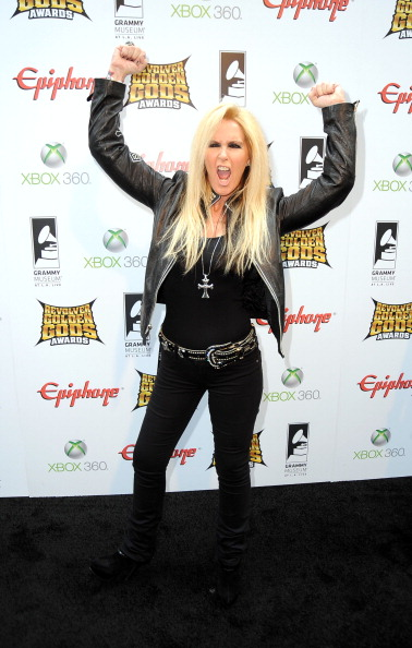 Leather Jacket「2012 Revolver Golden Gods Award Show - Arrivals」:写真・画像(2)[壁紙.com]