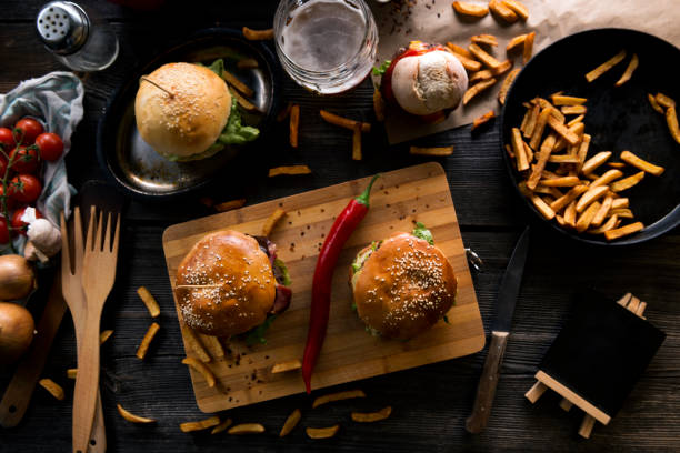 Beef burgers:スマホ壁紙(壁紙.com)