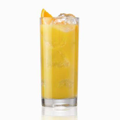 オレンジジュース「冷たいジュース(白)」:スマホ壁紙(9)