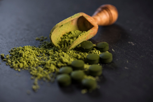 Wheatgrass「Organic Spirulina Powder and Tablets」:スマホ壁紙(2)