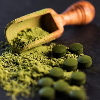 Wheatgrass「Organic Spirulina Powder and Tablets」:スマホ壁紙(8)