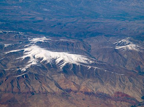 Iran「Iranian Mountain Terrain from the air」:スマホ壁紙(14)